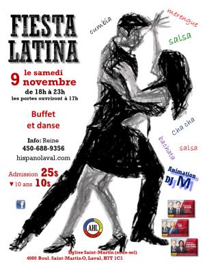 Fiesta Latina 9 novembre